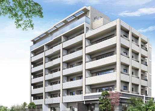 プラウド豊中 中桜塚 2009年3月竣工予定外観完成予想図